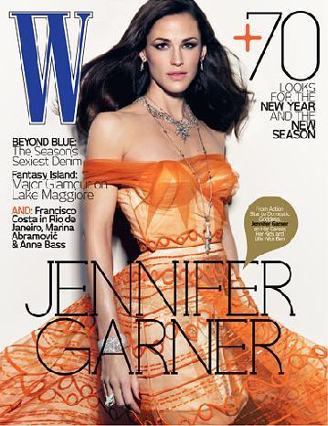 Przepiękna Jennifer Garner dla W Magazine