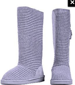 Włóczkowe kozaczki Crochet