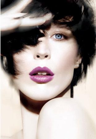 Fioletowe usta wiosną i latem - kolekcja Shiseido