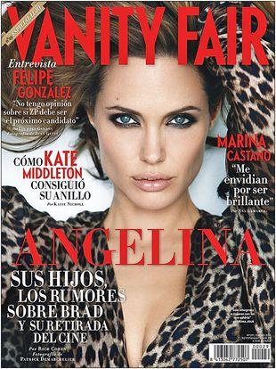 Angelina Jolie na okładce Vanity Fair (FOTO)