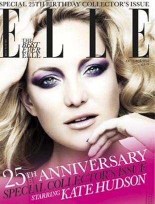 Kate Hudson w październikowym Elle