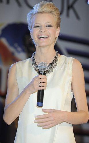 Małgorzata Kożuchowska pokazuje nogi (FOTO)