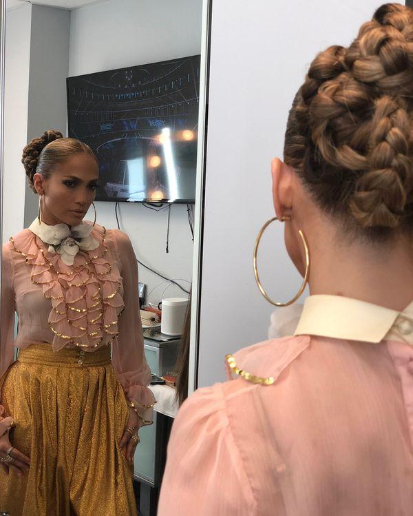Jennifer Lopez zaszalała z włosami! Musicie zobaczyć tył tej fryzury!