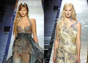 Chanel i Gaultier - wiosna-lato 2008