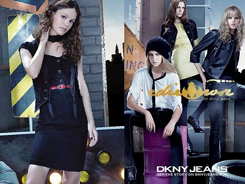 Rachel Bilson dla DKNY Jeans