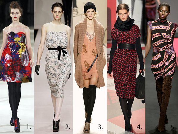 Jak nosić letnią sukienkę jesienią?