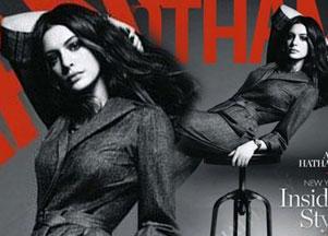 Anne Hathaway w sesji dla Gotham (FOTO)