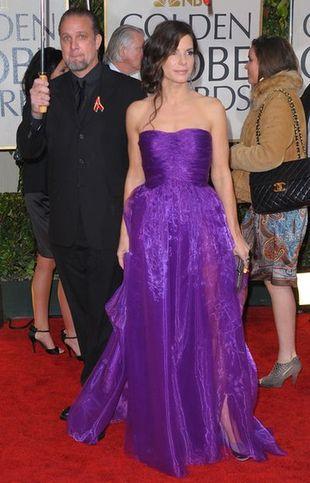 Sandra Bullock zachwyca na Złotych Globach