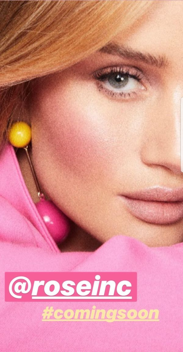 Rosie Huntington Whiteley założyła własną markę kosmetyczną! (FOTO)