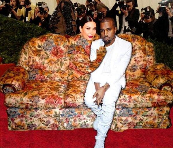 Cosmopolitan żartuje z sesji Kim Kardashian w Vogue