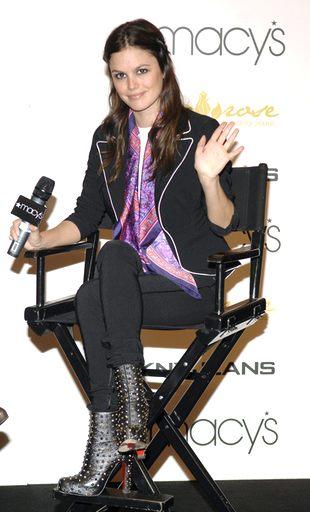 Rachel Bilson i jej buty z ćwiekami