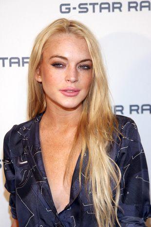 Lindsay Lohan opróżnia szafę