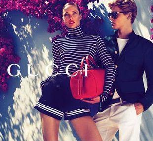 Karmen Pedaru ponownie twarzą Gucci! (FOTO)