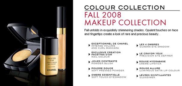 Złota jesień Chanel
