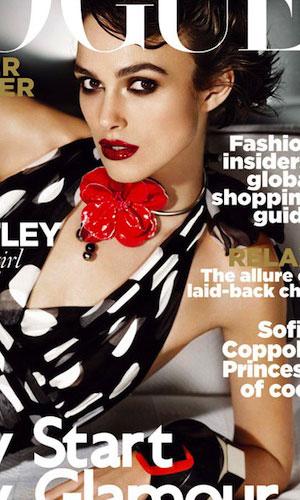 Keira Knightley stylowo na okładce Vogue'a (FOTO)
