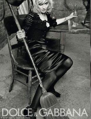 Kolejne ujęcie Madonny w kampani Dolce&Gabanna