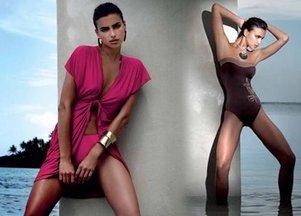 Irina Shayk w strojach kąpielowych Ory (FOTO)