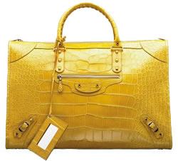 moda, trendy, dodatki, torebki, balenciaga, weekeng crocodile bag