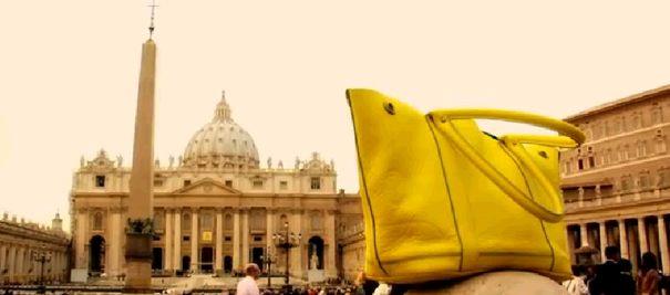 moda, trendy, j crew, wiosna lato 2008, kolekcje, ubrania, dodatki, żółta toba weekendowa