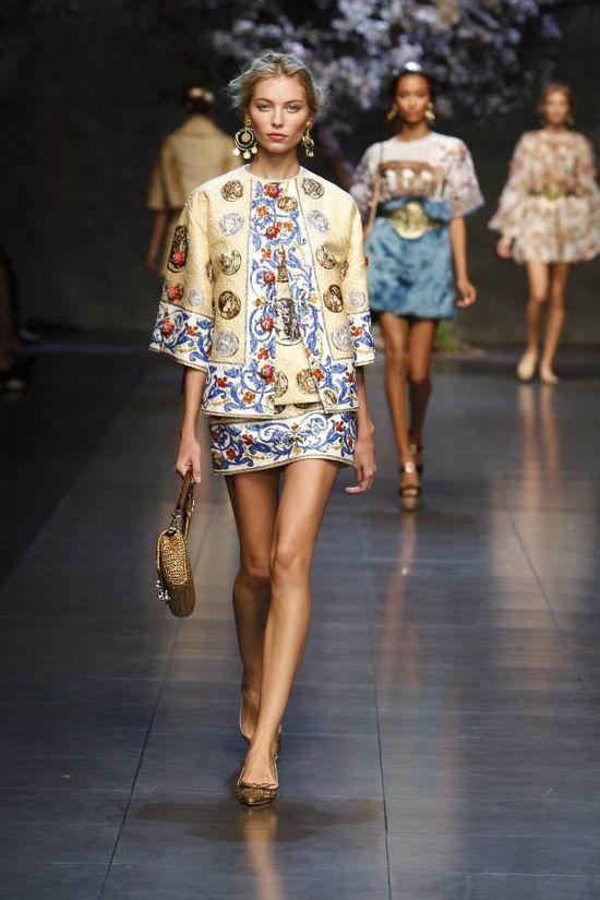 Dolce & Gabbana - kolekcja wiosna lato 2014