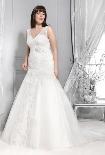 fb1c038670 Agnes - suknie ślubne dla puszystych - kolekcja 2015 - zdjęcie 4 ...