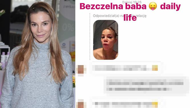 Internautka zarzuciła Mai Bohosiewicz powiększanie ust. Ta nie wytrzymała