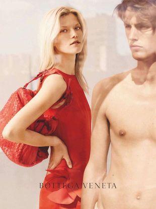 Kasia Struss twarzą marki Bottega Veneta