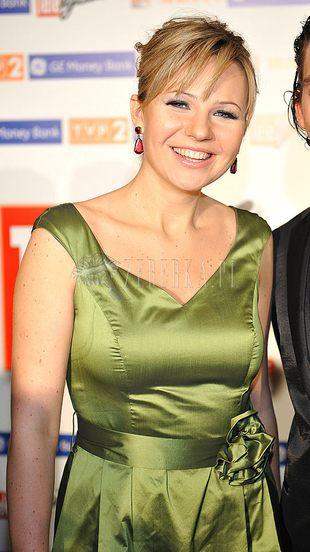 Anna Guzik w zieleni (FOTO)