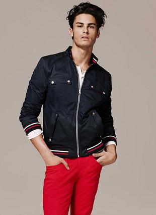 Baptiste Giabiconi w kampanii reklamowej H&M