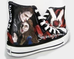 Buty dla prawdziwych fanek Zmierzchu