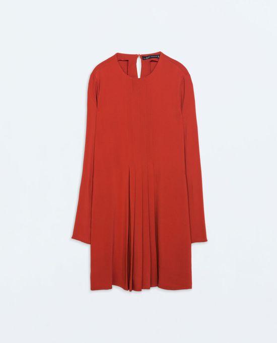 Jesień w długosci mini - przgląd sukienek od Zary (FOTO)