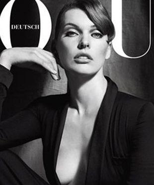 Milla Jovovich na okładce Vogue Deutsch (FOTO)