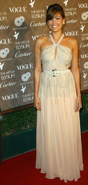 Eva Mendes na Złotych Globach