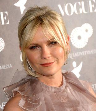 Kirsten Dunst w sukni z żabotem