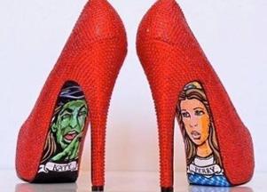 ozdabiane buty