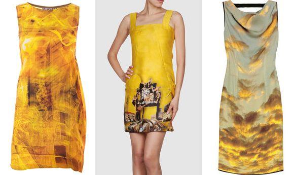 Sukienki z fotograficznym nadrukiem