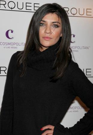 Jessica Szohr w czerni (FOTO)