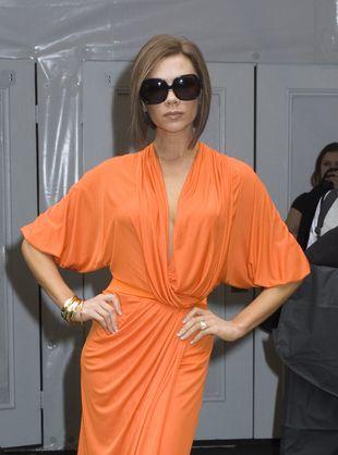 Oranżowa Victoria Beckham (FOTO)