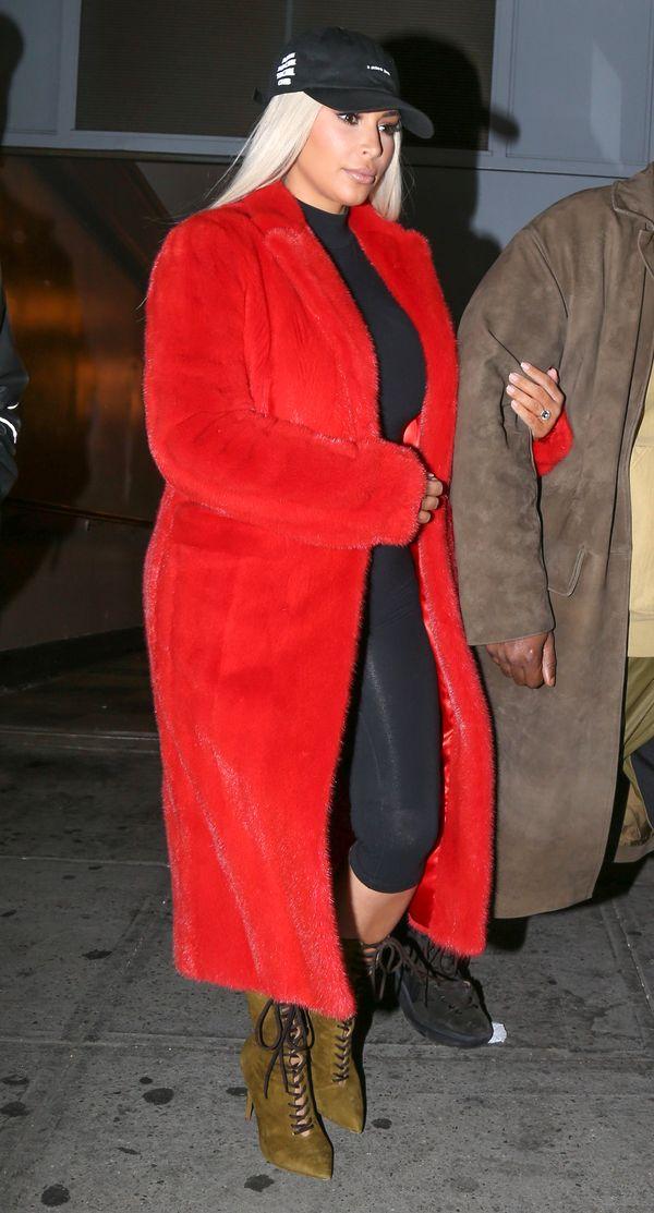 Kim Kardashian dwa miesiące po urodzeniu drugiego dziecka