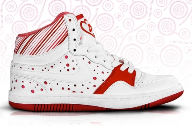 Nike Court Force High Valentine's Day