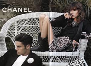 Pierwsze zdjęcia kampanii Chanel wiosna-lato 2011 (FOTO)