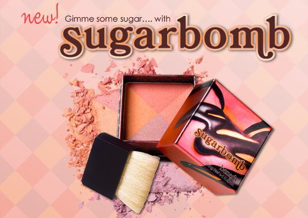 Sugarbomb - nowy róż od Benefit