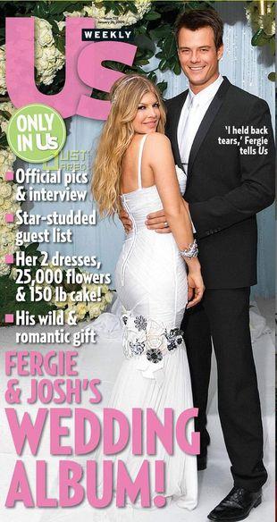 Fergie brała ślub w sukni D&G