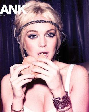 Lindsay Lohan na dwóch okładkach Blank Magazine