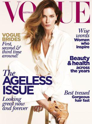 Erin Wasson na okładce Vogue Australia