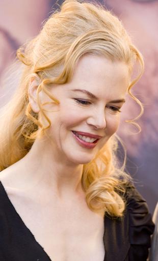 Nicole Kidman w małej czarnej