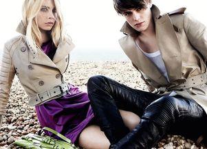 Wiosenna kampania Burberry (FOTO)