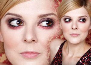 Makijaż na jesień: wiśnie w czekoladzie