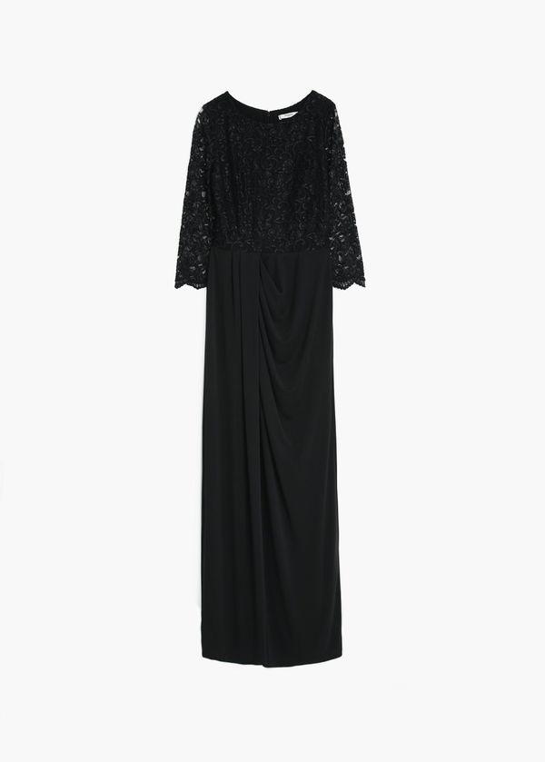 W co się ubrać na sylwestra/studniówkę? Sukienki maxi Mango