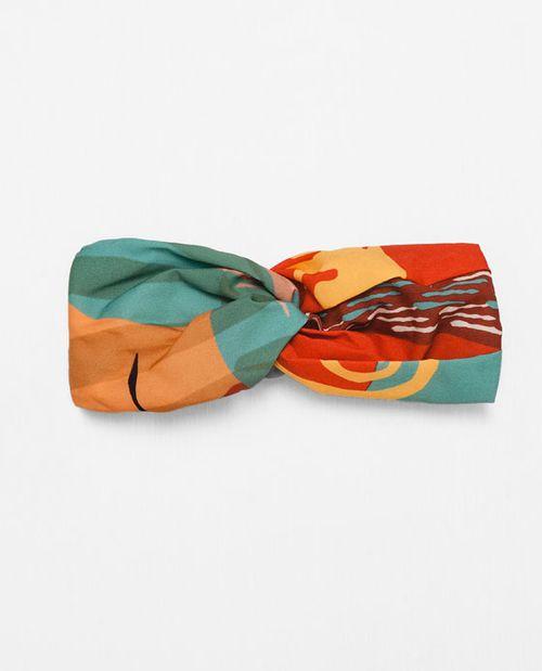 Zara Palm Springs - Duże wzory, jeans i odrobina stylu boho